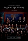 Introduction to English Legal History Cover Image