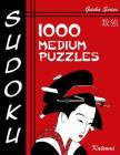Sudoku 1000 Medium Puzzles: Geisha Series Book Cover Image