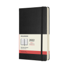 Moleskine 2022  Daily Planner, 12M, Large, Black , Hard Cover (5 x 8.25) Cover Image