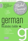 German Vocabulary Builder+ (Learn German with the Michel Thomas Method) Cover Image