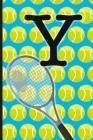 Y: Tennis Monogram Initial Notebook for boys Letter Y - 6