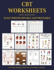 Books for Therapists for kids (CBT Worksheets): CBT worksheets for child therapists in training: CBT child formulation worksheets, CBT thought records Cover Image