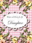 Recipes and Stories for My Daughter Cover Image