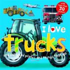 I Love Trucks Sticker Book Cover Image