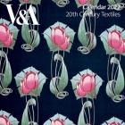 V&A - Twentieth Century Textiles Wall Calendar 2022 (Art Calendar) Cover Image