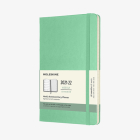 Moleskine 2021-2022 Weekly Planner, 18M, Large, Ice Green, Hard Cover (5 x 8.25) Cover Image