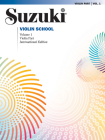 Suzuki Violin School: Violin Part, Volume 1 Cover Image