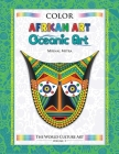 Color World Culture: African Art & Oceanic Art Cover Image