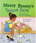 Messy Bessey's School Desk (A Rookie Reader) Cover Image