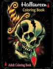 Adult Coloring Books: Halloween Coloring Book Cover Image