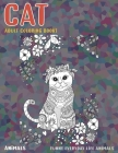 Adult Coloring Books Funny Everyday Life Animals - Animals - Cat Cover Image