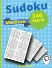 240 Medium-Hard Sudoku: Train Your Brain with these Fun Cover Image