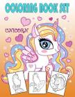 Unicorn Coloring Book Set: Coloring Help to Fun for Kids Cover Image