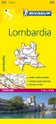 Michelin Lombardia Map (Michelin Maps #353) Cover Image