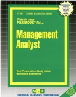 Management Analyst: Passbooks Study Guide (Career Examination Series) Cover Image