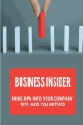Business Insider: Bring RPA Into Your Company With AEIO YOU Method: Set Up A Coe Cover Image