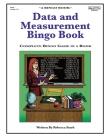 Data and Measurement Bingo Book: Complete Bingo Game In A Book Cover Image