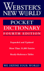 Webster's New World Pocket Dictionary, Fourth Edition Cover Image