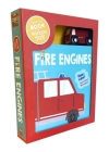 Fire Engines: Book & Wooden Toy Set Cover Image