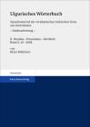 Uigurisches Worterbuch. Sprachmaterial Der Vorislamischen Turkischen Texte Aus Zentralasien. Neubearbeitung: Bd. 2: Nomina - Pronomina - Partikeln. Te Cover Image
