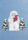Yuletide Yeti Small Boxed Holiday Cards Cover Image