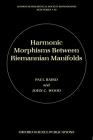 Harmonic Morphisms Between Riemannian Manifolds (London Mathematical Society Monographs #29) Cover Image