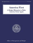 America First: A Budget Blueprint to Make America Great Again Cover Image