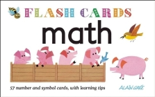 Math - Flash Cards: 57 Number and Symbol Cards, with Learning Tips Cover Image