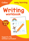 Writing Workbook: Ages 3-5 (Collins Easy Learning Preschool) Cover Image