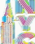 Rainbow Chrysler Building Writing Drawing Journal Cover Image