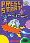 Super Rabbit Boy Blasts Off!: A Branches Book (Press Start! #5) Cover Image