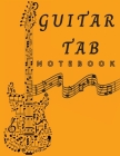 Guitar Tab Notebook: Amazing 6 String Guitar Chord and Tablature Staff Music Paper - Blank Guitar Tab Notebook Cover Image
