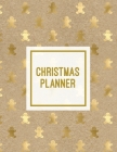Christmas Planner: Family Holiday Organizer, Gift List Pages, Shopping & Budget Notes, Calendar Journal, Party Plan Book, Christmas Card Cover Image