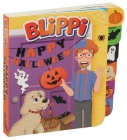 Blippi: Happy Halloween (Board Books with Tabs) Cover Image
