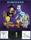 Simpsons: Coloring Book for Kids and Adults with Fun, Easy, and Relaxing Cover Image