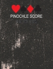 Pinochle Score Play Two Teams: score for pinochle Dealer pass direction suit bid meld take total Team A B Play Two Teams Cover Image