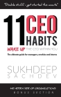 11 CEO Habits - Wake Up The CEO Within You: The Ultimate Guide For Managers, Newbies And Interns Cover Image