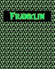 120 Page Handwriting Practice Book with Green Alien Cover Franklin: Primary Grades Handwriting Book Cover Image
