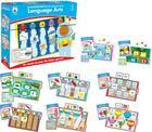 Language Arts File Folder Game, Grade 1: File Folder Games Cover Image