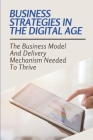 Business Strategies In The Digital Age: The Business Model And Delivery Mechanism Needed To Thrive: Digitalization Business Strategy Cover Image