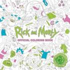 Rick and Morty Official Coloring Book Cover Image