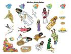Surf Shack Bible Story Activity Stickers: Catch the Wave of God's Amazing Love Cover Image