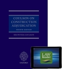 Coulson on Construction Adjudication (Book and Digital Pack) Cover Image