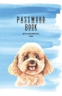 Password Book With Alphabetical Tabs: Internet Address & Password Organizer Logbook Small (110 Pages, 5.5 x 8.5 in) Cover Image