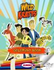 Wild Kratts Coloring Book: Wild Kratts Jumbo Coloring Book For Kids, Premium Quality Cover Image
