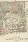 Washington Vintage Map Field Journal Notebook, 50 pages/25 sheets, 4x6 Cover Image