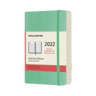Moleskine 2022 Daily Planner, 12M, Pocket, Ice Green, Soft Cover (3.5 x 5.5) Cover Image