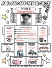 Graphic Organizer Posters: All-About-Me Robot: Grades K-2: Fill-in Personal Posters for Kids to Display with Pride Cover Image