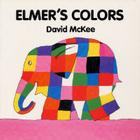 Elmer's Colors Board Book Cover Image