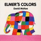Elmer's Colors Board Book Cover Image